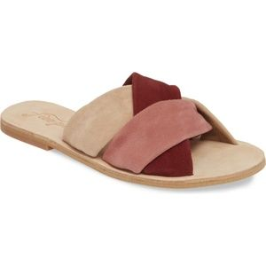 NEW Free People Rio Vista Slide Sandal (Women)